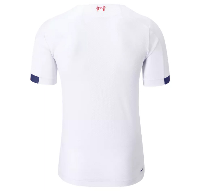 Liverpool FC 2019/20 Away Jersey back