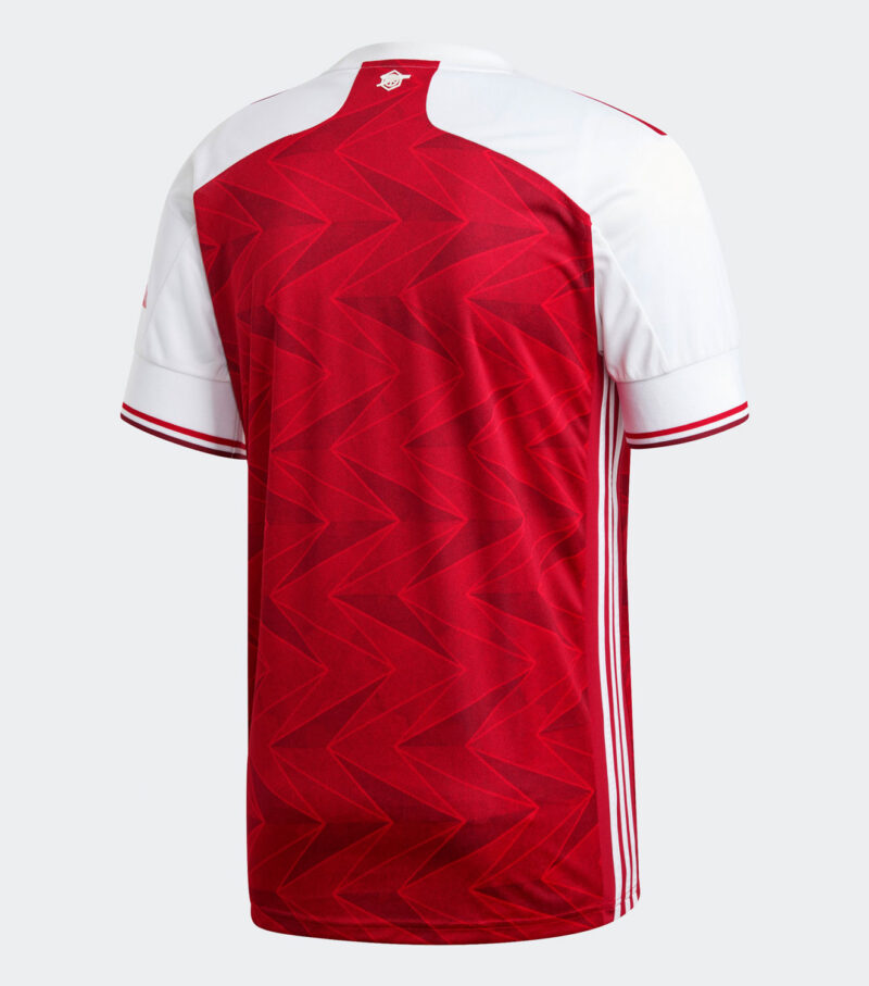 Arsenal FC 2020/21 Home Jersey back