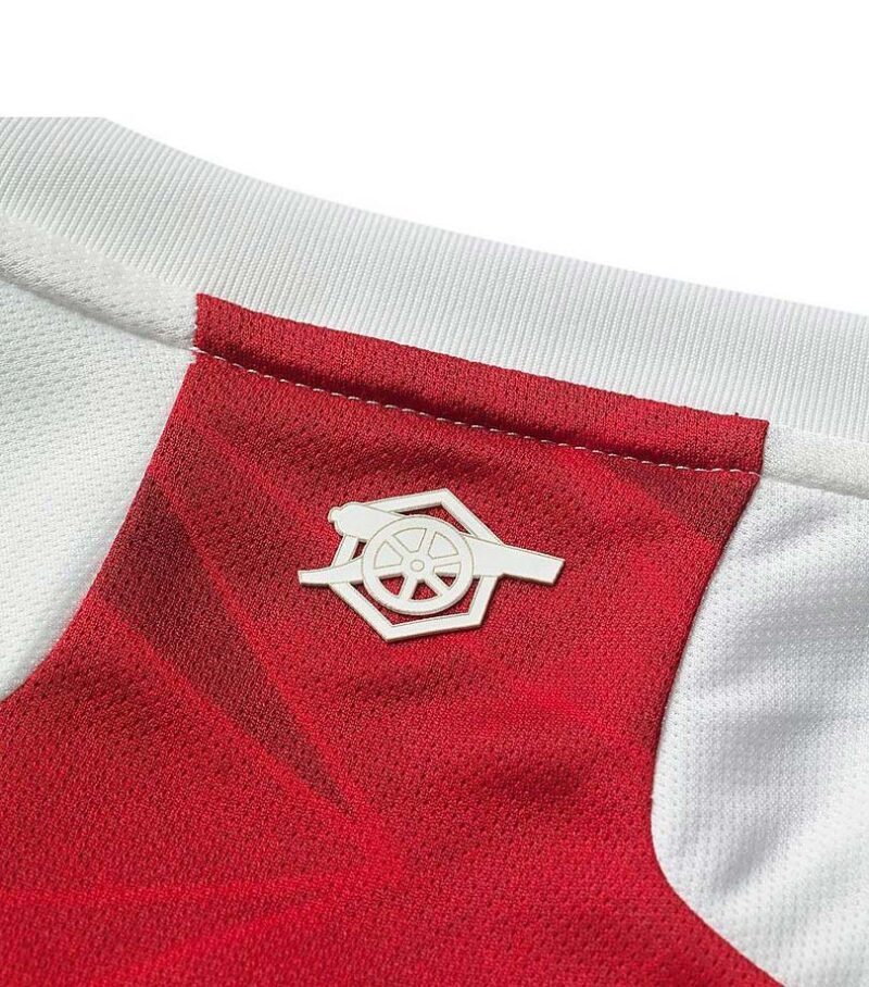Arsenal FC 2020/21 Home Jersey Neck