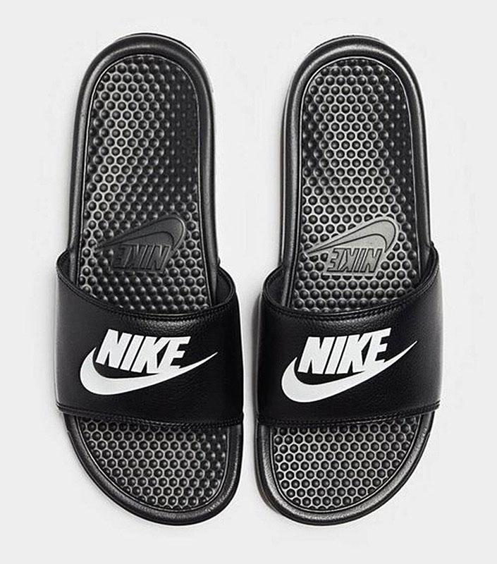 Nike Benassi JDI Black Slide Side front