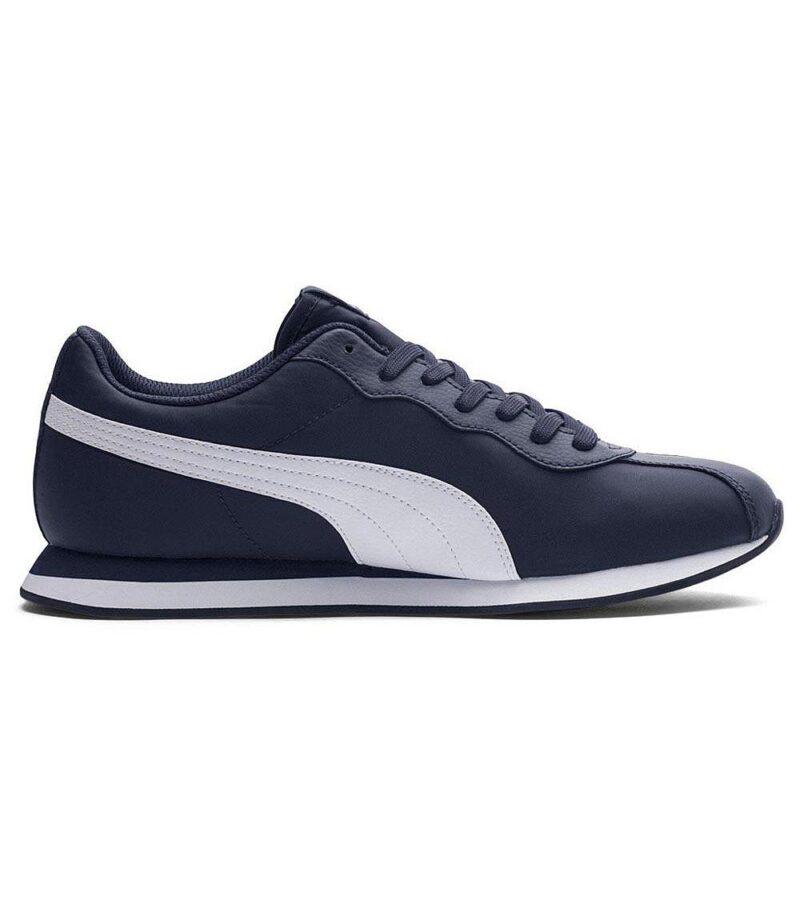 Puma Turin II NL Navy Sneakers Side
