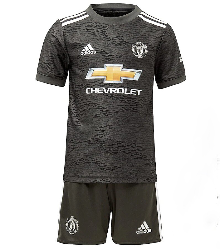 Manchester United FC 2020/21 Away Kid Jersey   Mysportskit NG