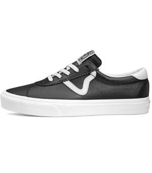 Vans Sport Leather Black Sneaker