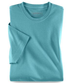 Walbusch Round neck T-shirt (Aqua)