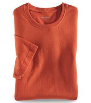 Walbusch Round neck T-shirt (Orange)