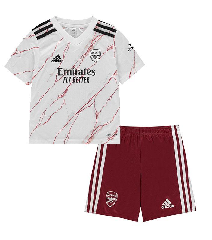 Arsenal FC 2020/21 Away Kid Jersey