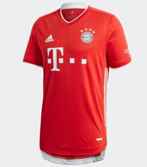 Bayern Munich 2020/21 Authentic Home Jersey