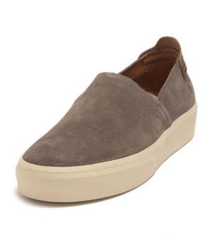 Frye Beacon Suede Slip-On Sneaker (Slate)
