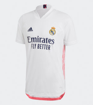 Real Madrid Fc 2020/21 Authentic Home Jersey