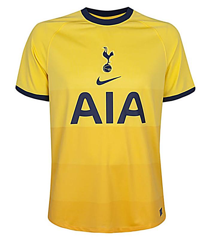 Tottenham Hotspur Third Jersey 2020 21 Mysportskit Ng
