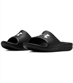 Under Armour black slide Core Pth Slide