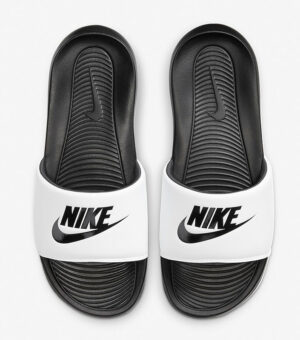 Nike Victori One White Slide