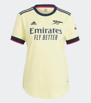 Arsenal FC 2021/22 Away Female Jersey