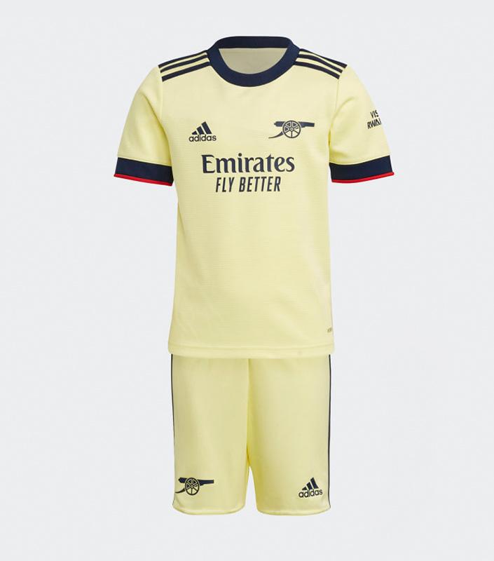 Arsenal FC 2021/22 Away Kid Jersey