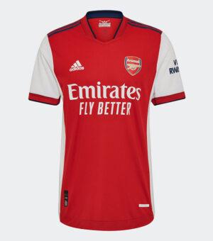 Arsenal FC 2021/2022 Home Jersey Player Grade
