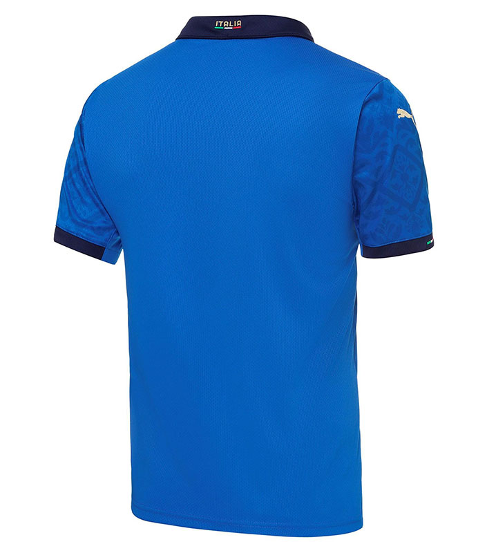 Italy Home Jersey 2021 Euro back