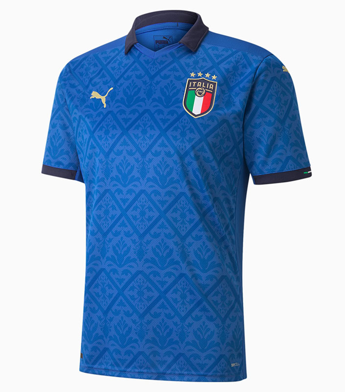 Italy Home Jersey 2021 Euro