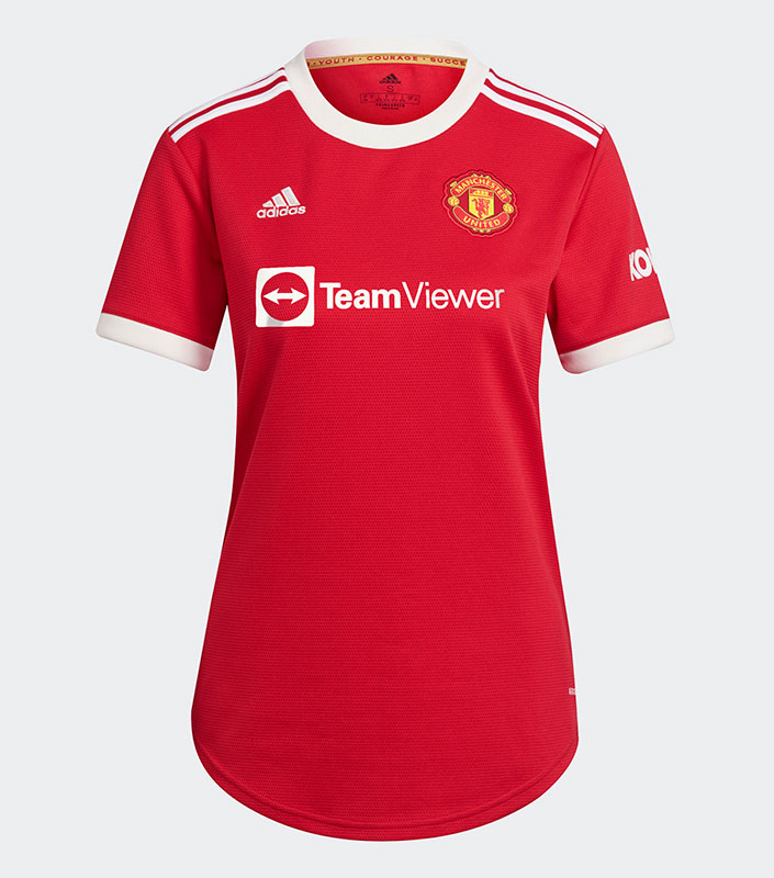 Manchester United FC 21/22 Home Female Jersey