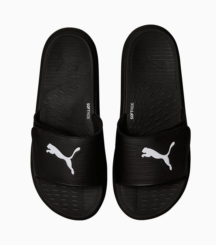 Puma Softride Slides Black top