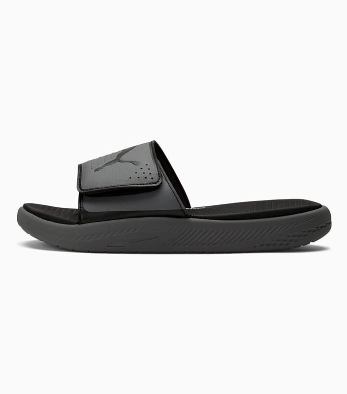 Puma Softride Slides Grey left
