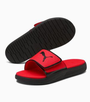 Puma Softride Slides Red