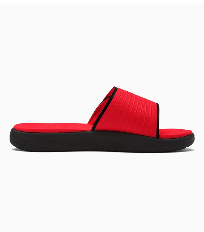 Puma Softride Slides Red side